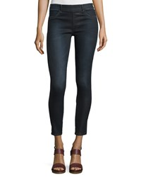 True Religion Runway Mid Rise Leggings Blue Women's