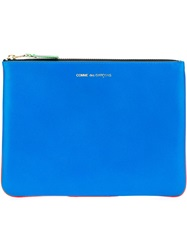 Comme Des Garcons Wallet 'Super Fluo' Purse Yellow And Orange