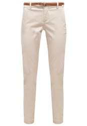 Comma Chinos Ivory Beige