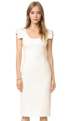 Black Halo Amelie Sheath Dress Porcelain