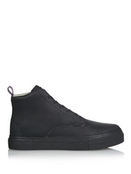 Odyssey High Top Leather Trainers