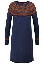 Derhy Bordeaux Jumper Dress Marine Dark Blue