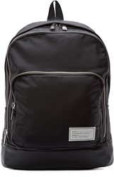 Marc By Marc Jacobs Black Leather Trimmed Ultimate Backpack