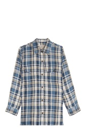 Current Elliott Perfect Plaid Shirt