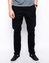 Weekday Wood Chinos Slim Fit Black