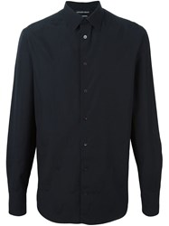 Alexander Mcqueen Skull Patterned Shirt Black