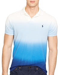 Ralph Lauren Custom Fit Dip Dyed Polo Shirt Slim Fit