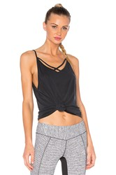 Solow Softlounge Cross Strap Tank Black