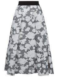 Damsel In A Dress Floral Corset Skirt Black Ivory