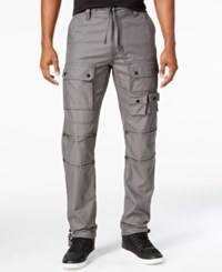 Sean John Men's Dobby Flight Pants Dark Shadow