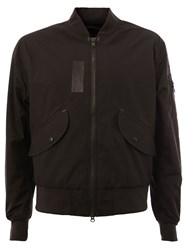 Yang Li Layered Bomber Jacket Black
