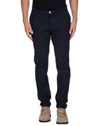 Obvious Basic By Paolo Pecora Casual Pants Dark Blue