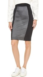 Chromat Optimal Pencil Skirt Black