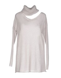 Kaos Knitwear Turtlenecks Women Beige
