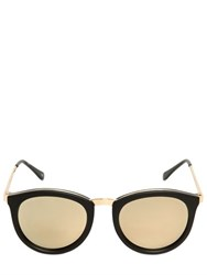Le Specs Mirrored Acetate Sunglasses