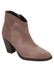 Phase Eight Amber Suede Boots Neutral
