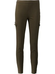 Giamba Skinny Trousers Green