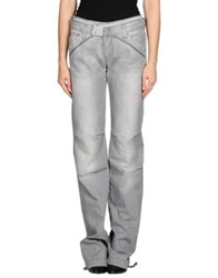 Liu Jeans Denim Pants Grey