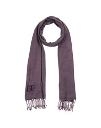 Gianfranco Ferre' Accessories Oblong Scarves Men Purple