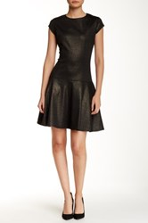 Emploi Louise Fit And Flare Dress Metallic