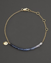 Meira T Blue Sapphire And 14K Yellow Gold Bracelet No Color