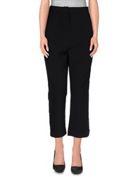 Made For Loving Trousers 3 4 Length Trousers Women Black
