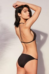 Out From Under Solid Slinky Bikini Bottom Black