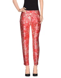 Giambattista Valli Trousers Casual Trousers Women Red