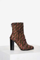 Intentionally Blank Disco Sequin Boot Multi