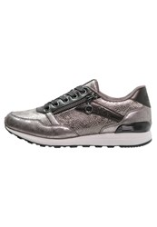 S.Oliver Trainers Champagne Metallic Grey