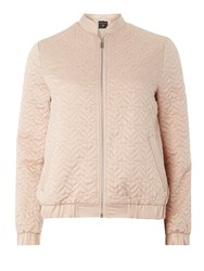Dorothy Perkins Quilted Bomber Jacket Pink