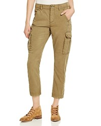 Free People Wild Nothing Cropped Cargo Pants Moss