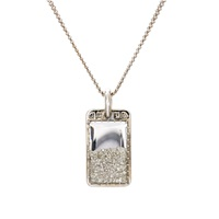 Renee Lewis Dog Tag Pendant Necklace