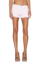 7 For All Mankind Cut Off Short Pink