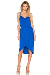 Michael Stars Cami Wrap Dress Blue