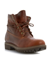 Timberland 6833A Heavy Lace Up Boots Tan