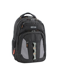 Kenneth Cole Reaction Deluxe Double Gusset Expandable Computer Backpack Black