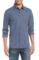 Jack Spade Men's 'Grant' Trim Fit Microcheck Sport Shirt