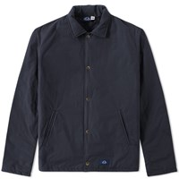 Bleu De Paname Coach Jacket Blue