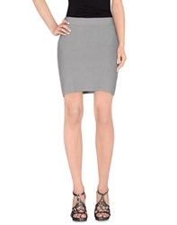 Maison Martin Margiela Mm6 By Maison Margiela Skirts Mini Skirts Women Grey
