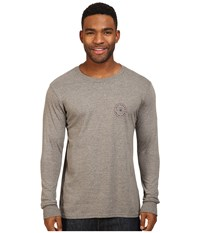 Billabong Rotor Long Sleeve Tee Dark Grey Heather Men's T Shirt Gray