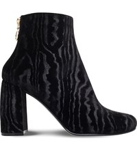 Stella Mccartney Low 90 Faux Leather Ankle Boots Black