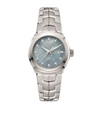 Tag Heuer Link Ladies Grey Mother Of Pearl Watch Unisex