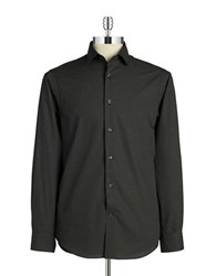 Report Collection Dotted Sportshirt Black