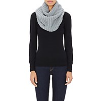 Barneys New York Women's Cashmere Infinity Scarf Green