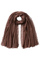 Rick Owens Cashmere Scarf With Silk