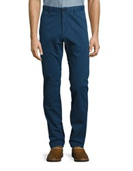 Strellson Twill Chino Pants Medium Blue