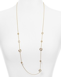 Nadri Honeycomb Strand Necklace 36 Gold