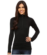 Arc'teryx Rho Ar Zip Neck Black Women's Clothing