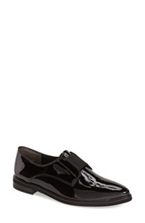 Paul Green 'Evana' Oxford Loafer Women Black Patent